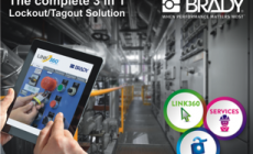 Brady's Lockout/Tagout guide aims to prevent accidents at work